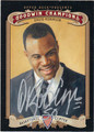 DAVID ROBINSON AUTOGRAPHED BASKETBALL CARD #102012B