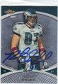 BRENT CELEK AUTOGRAPHED FOOTBALL CARD #102112J