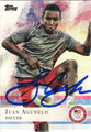 JUAN AGUDELO AUTOGRAPHED OLYMPIC SOCCER CARD #102112L