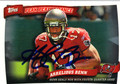 ARRELIOUS BENN TAMPA BAY BUCCANEERS AUTOGRAPHED ROOKIE FOOTBALL CARD #102113A