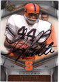 FLOYD LITTLE SYRACUSE UNIVERSITY ORANGEMEN AUTOGRAPHED FOOTBALL CARD #102113J
