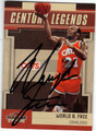 WORLD B FREE CLEVELAND CAVALIERS AUTOGRAPHED BASKETBALL CARD #10214M