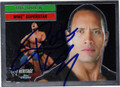 "DWAYNE ""THE ROCK"" JOHNSON AUTOGRAPHED WRESTLING CARD #10213H"