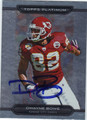 DWAYNE BOWE AUTOGRAPHED FOOTBALL CARD #102211M
