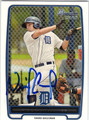 NICK CASTELLANOS AUTOGRAPHED ROOKIE BASEBALL CARD #102212M
