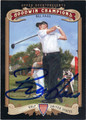 BILL HAAS AUTOGRAPHED GOLF CARD #102312H