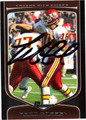 MATT CASSEL AUTOGRAPHED FOOTBALL CARD #102411A