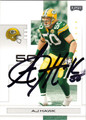 AJ HAWK AUTOGRAPHED FOOTBALL CARD #102411K