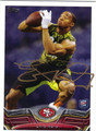 ERIC REID SAN FRANCISCO 49ers AUTOGRAPHED ROOKIE FOOTBALL CARD #102313K