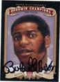 BOB GIBSON AUTOGRAPHED BASEBALL CARD #102712J