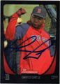 DAVID ORTIZ BOSTON RED SOX AUTOGRAPHED BASEBALL CARD #102713i