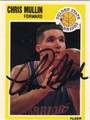 CHRIS MULLIN AUTOGRAPHED BASKETBALL CARD #102912A