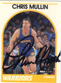 CHRIS MULLIN AUTOGRAPHED BASKETBALL CARD #103012A