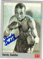 SANDY SADDLER AUTOGRAPHED BOXING CARD #10314F