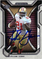 FRANK GORE SAN FRANCISCO 49ers AUTOGRAPHED FOOTBALL CARD #10314G