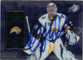 RYAN MILLER BUFFALO SABRES AUTOGRAPHED HOCKEY CARD #10314O