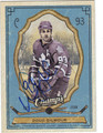 DOUG GILMOUR TORONTO MAPLE LEAFS AUTOGRAPHED HOCKEY CARD #10413C