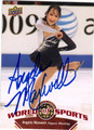 ANGELA MAXWELL AUTOGRAPHED FIGURE SKATING CARD #103113A