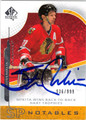 STAN MIKITA CHICAGO BLACKHAWKS AUTOGRAPHED & NUMBERED HOCKEY CARD #10413H