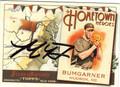 MADISON BUMGARNER SAN FRANCISCO GIANTS AUTOGRAPHED BASEBALL CARD #10514C