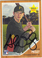 ALEX PRESLEY PITTSBURGH PIRATES AUTOGRAPHED ROOKIE BASEBALL CARD #10513T