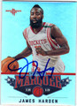 JAMES HARDEN HOUSTON ROCKETS AUTOGRAPHED BASKETBALL CARD #10514F