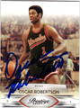 OSCAR ROBERTSON MILWAUKEE BUCKS AUTOGRAPHED BASKETBALL CARD #10514J