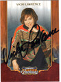 VICKI LAWRENCE AUTOGRAPHED CARD #10613A