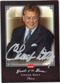 CHUCK DALY DETROIT PISTONS AUTOGRAPHED BASKETBALL CARD #10714B