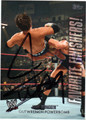 JACK SWAGGER AUTOGRAPHED WRESTLING CARD #10812G