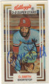 OZZIE SMITH ST LOUIS CARDINALS AUTOGRAPHED BASEBALL CARD #10813B