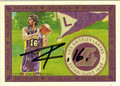 PAU GASOL LOS ANGELES LAKERS AUTOGRAPHED BASKETBALL CARD #10813A