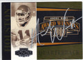 ANDRE WARE UNIVERSITY OF HOUSTON AUTOGRAPHED FOOTBALL CARD #10913B