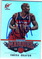 EMEKA OKAFOR WASHINGTON WIZARDS AUTOGRAPHED BASKETBALL CARD #10914A