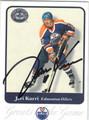 JARI KURRI EDMONTON OILERS AUTOGRAPHED HOCKEY CARD #10914E