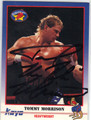 TOMMY MORRISON AUTOGRAPHED BOXING CARD #10814F