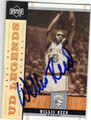 WILLIS REED NEW YORK KNICKS AUTOGRAPHED BASKETBALL CARD #10814G
