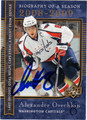 ALEXANDER OVECHKIN WASHINGTON CAPITALS AUTOGRAPHED HOCKEY CARD #110112C