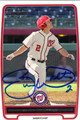 ZACH WALTERS AUTOGRAPHED ROOKIE BASEBALL CARD #110112J