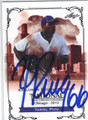 YASIEL PUIG LOS ANGELES DODGERS AUTOGRAPHED ROOKIE BASEBALL CARD #110113A