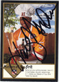 HARDY NICKERSON TAMPA BAY BUCCANEERS AUTOGRAPHED FOOTBALL CARD #11013C