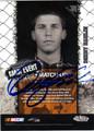 DENNY HAMLIN AUTOGRAPHED NASCAR CARD #110211H