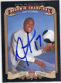 JOZY ALTIDORE AUTOGRAPHED SOCCER CARD #110312M
