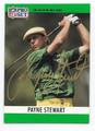 PAYNE STEWART AUTOGRAPHED GOLF CARD #110310F