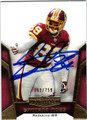 SANTANA MOSS AUTOGRAPHED & NUMBERED FOOTBALL CARD #110311B