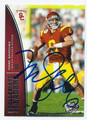 MARK SANCHEZ AUTOGRAPHED ROOKIE FOOTBALL CARD #110510G