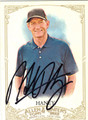 HANK HANEY AUTOGRAPHED GOLF CARD #110812A
