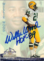WILLIE WOOD AUTOGRAPHED FOOTBALL CARD #110812H