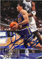 JOHN STOCKTON AUTOGRAPHED BASKETBALL CARD #111012C