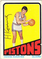 HOWIE KOMIVES AUTOGRAPHED VINTAGE BASKETBALL CARD #111112B